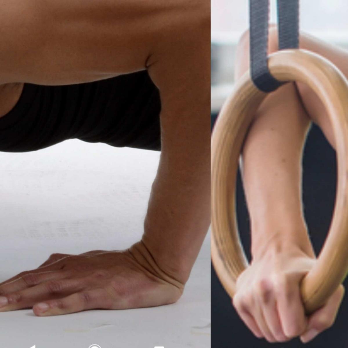 wrist position ring push ups
