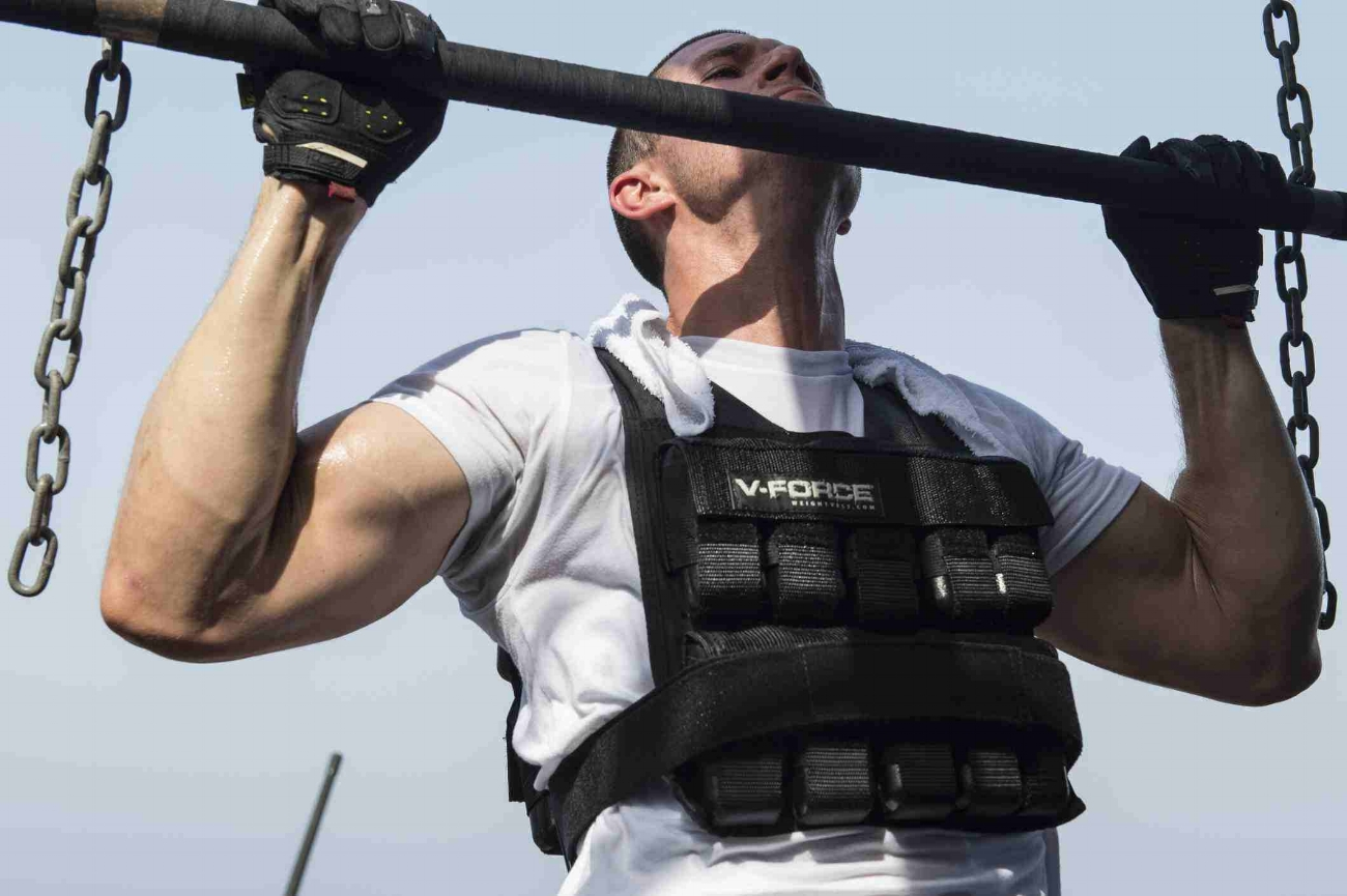 weight vest pull ups