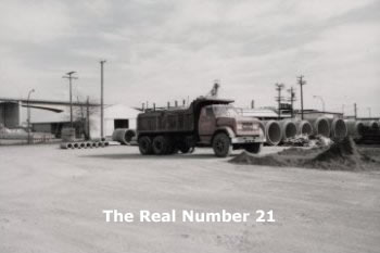 The Real Number 21 truck- her father's- that inspired Nancy's book