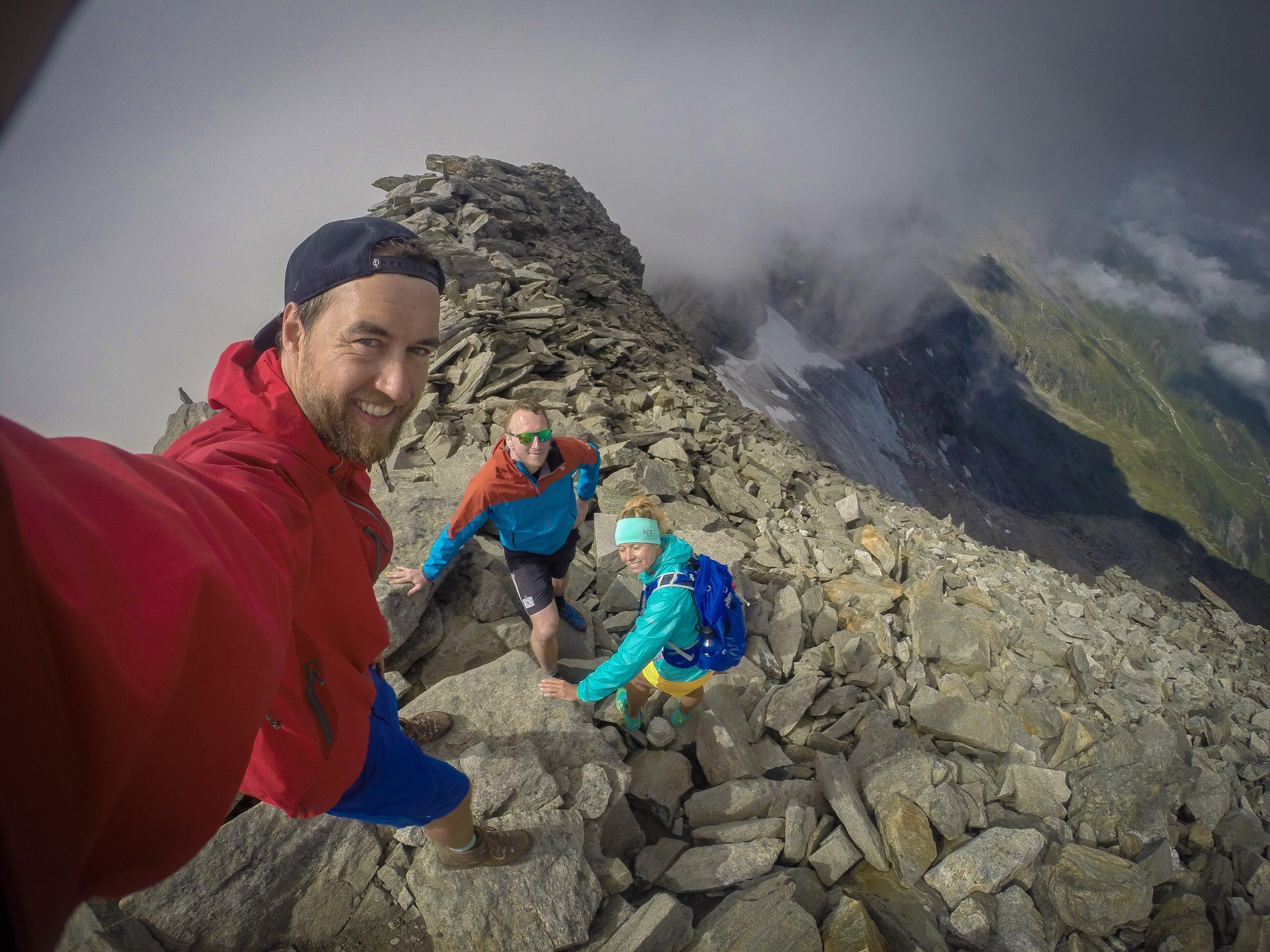 Gipfelgrat Hoher Riffler