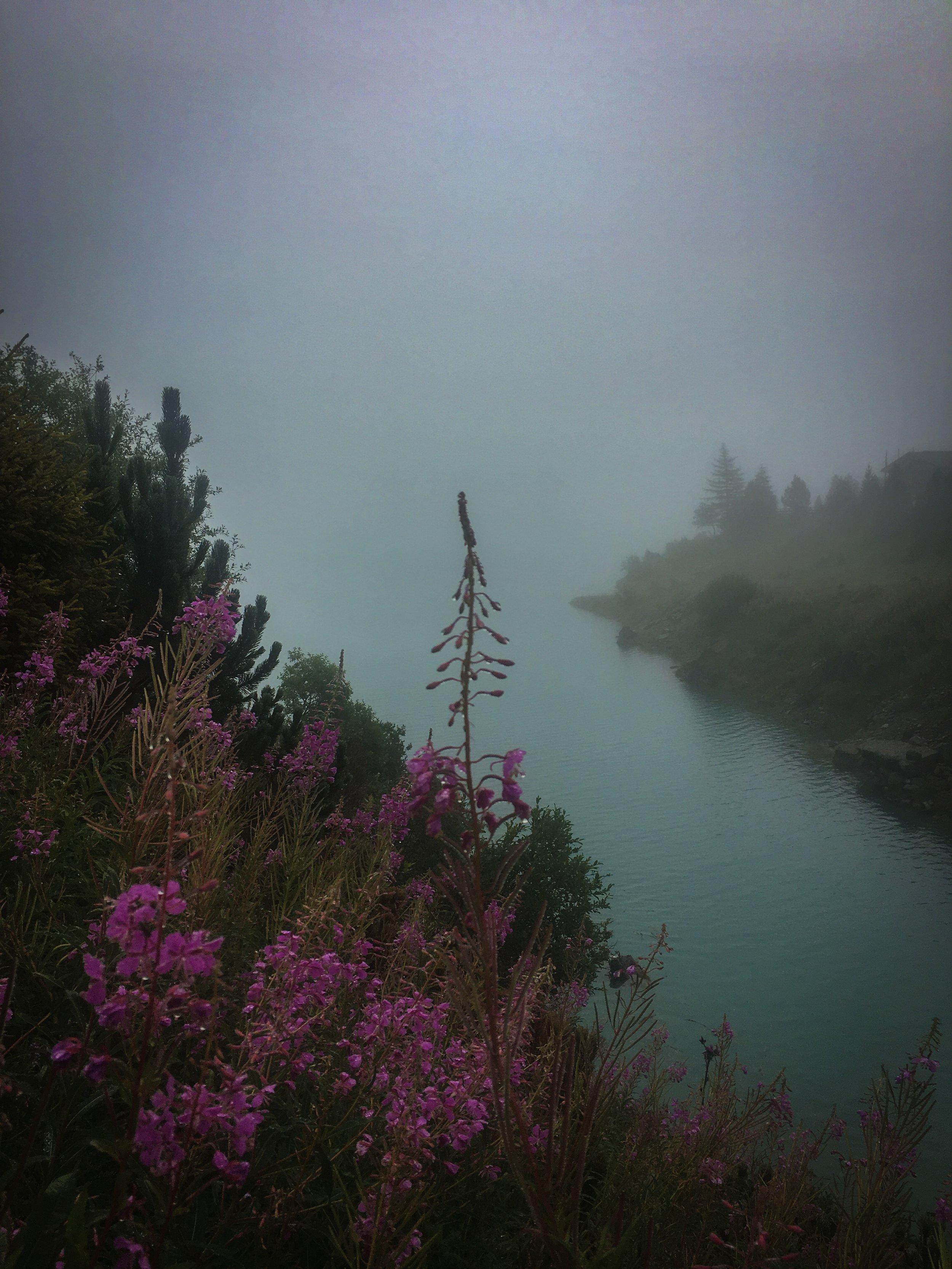 Nebel am Schlegeisspeicher