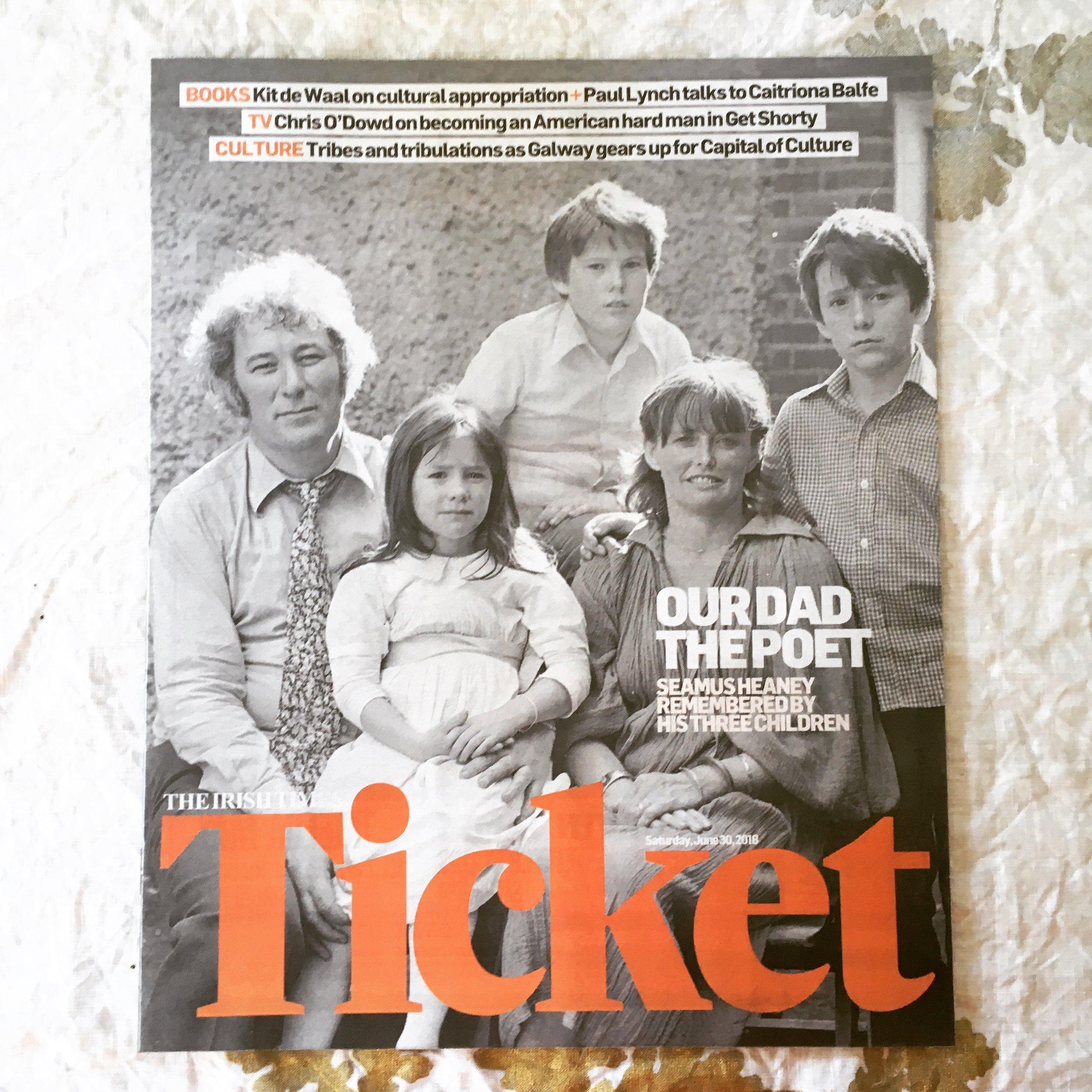 Irish Times Ticket