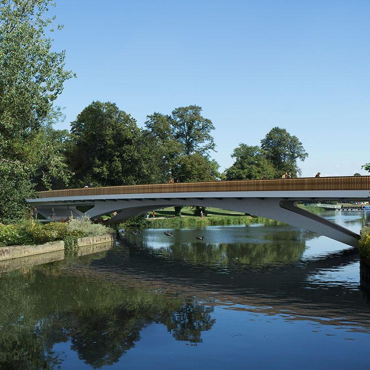 <b>Waterside Campus Road Bridge</b> | University of Northampton