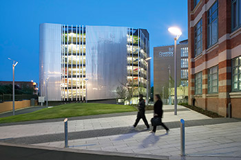 <b>Multi-storey Car Park</b><br>Coventry University