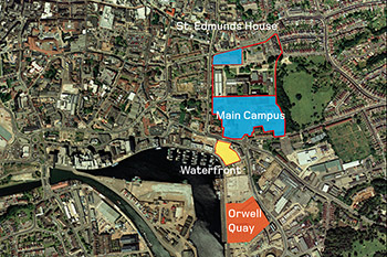 <b>Campus Masterplan</b><br>University Campus Suffolk