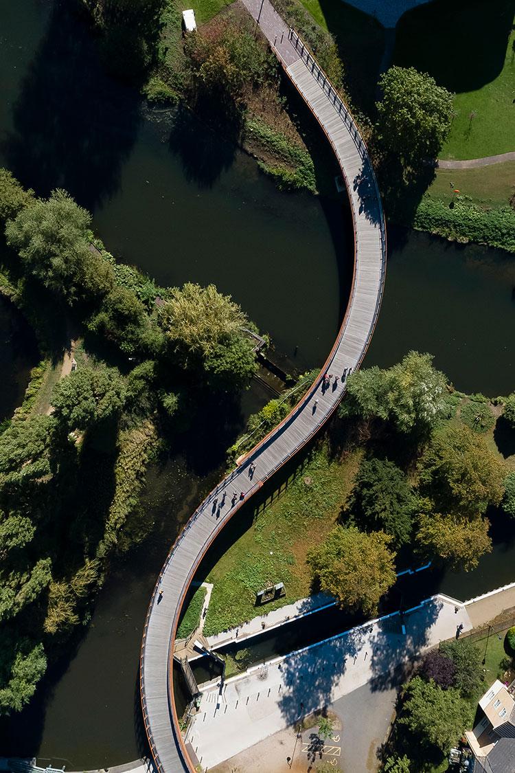 <b>Waterside Campus Foot Bridge</b> | University of Northampton
