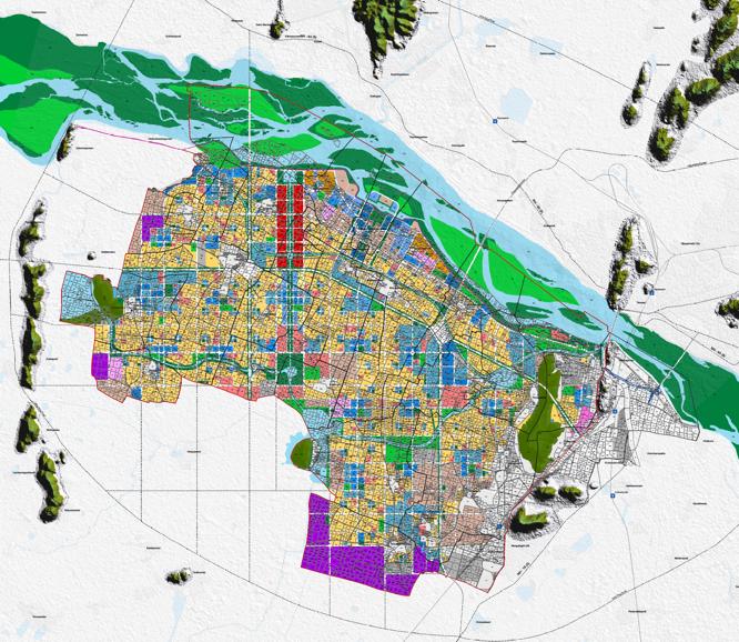The master plan for the Amaravati capital city   (Source:  Andhra Pradesh Capital Region Development Authority ).
