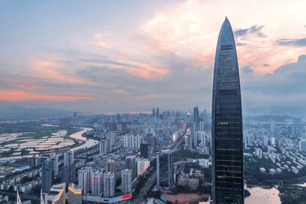 Shenzhen: China's first, and one of its most successful, SEZs  (Source:  HSNO )