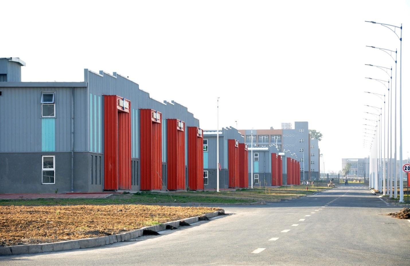 Ethiopia's Hawassa Industrial Park  (Source:  Ethiopian Investment Commission )