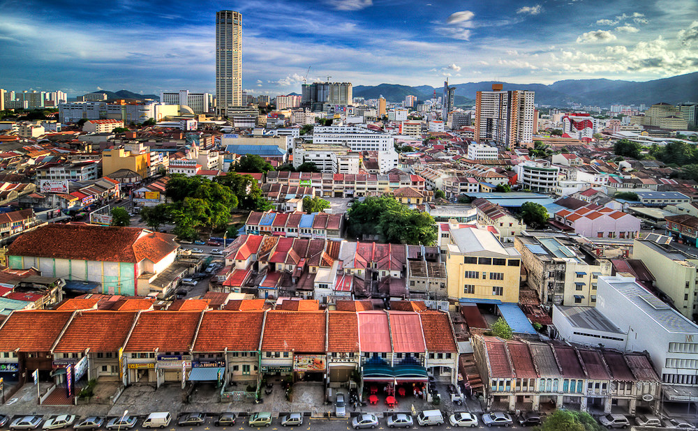 View of George Town, Penang  (Source  Marcus Tan )