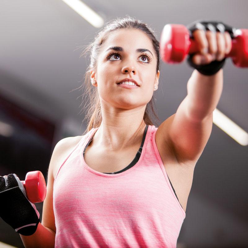 allenamento con pesi e carichi efficace e stimolate per raggiungere i tuoi obiettivi