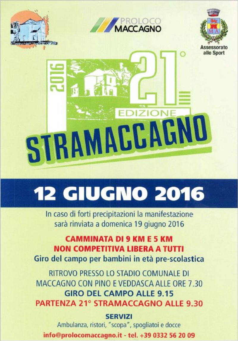 Movimenti è anche a StraMaccagno 2016