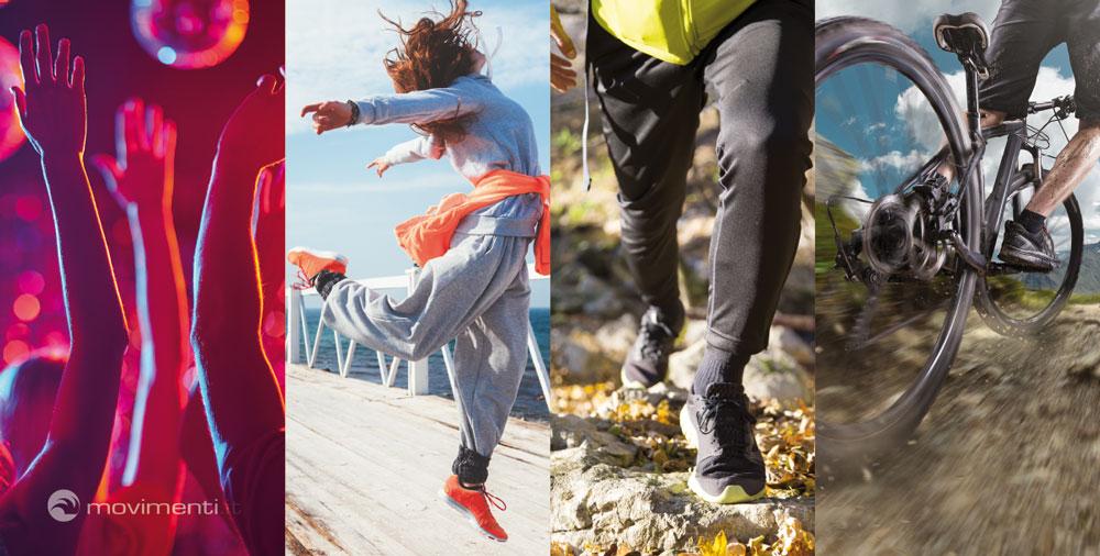 Ti piace ballare, migliorarti, camminare, pedalare? -