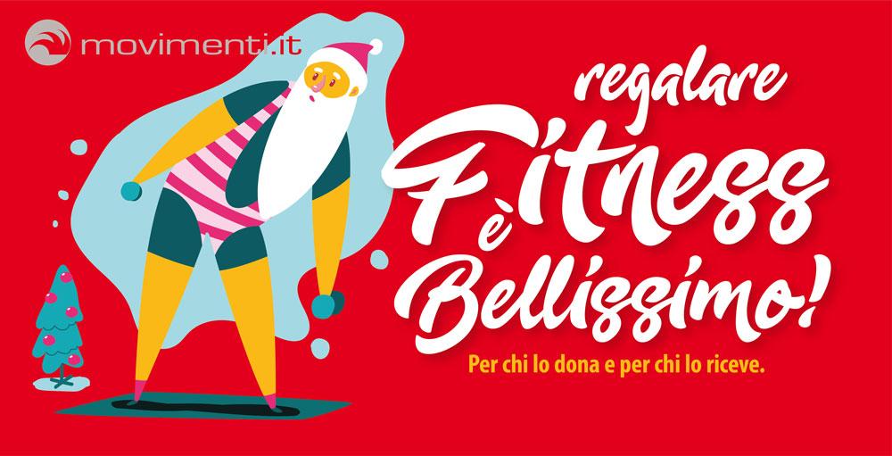Regalare il fitness della palestra MOVIMENTI anche quest'anno sarà bellissimo!
