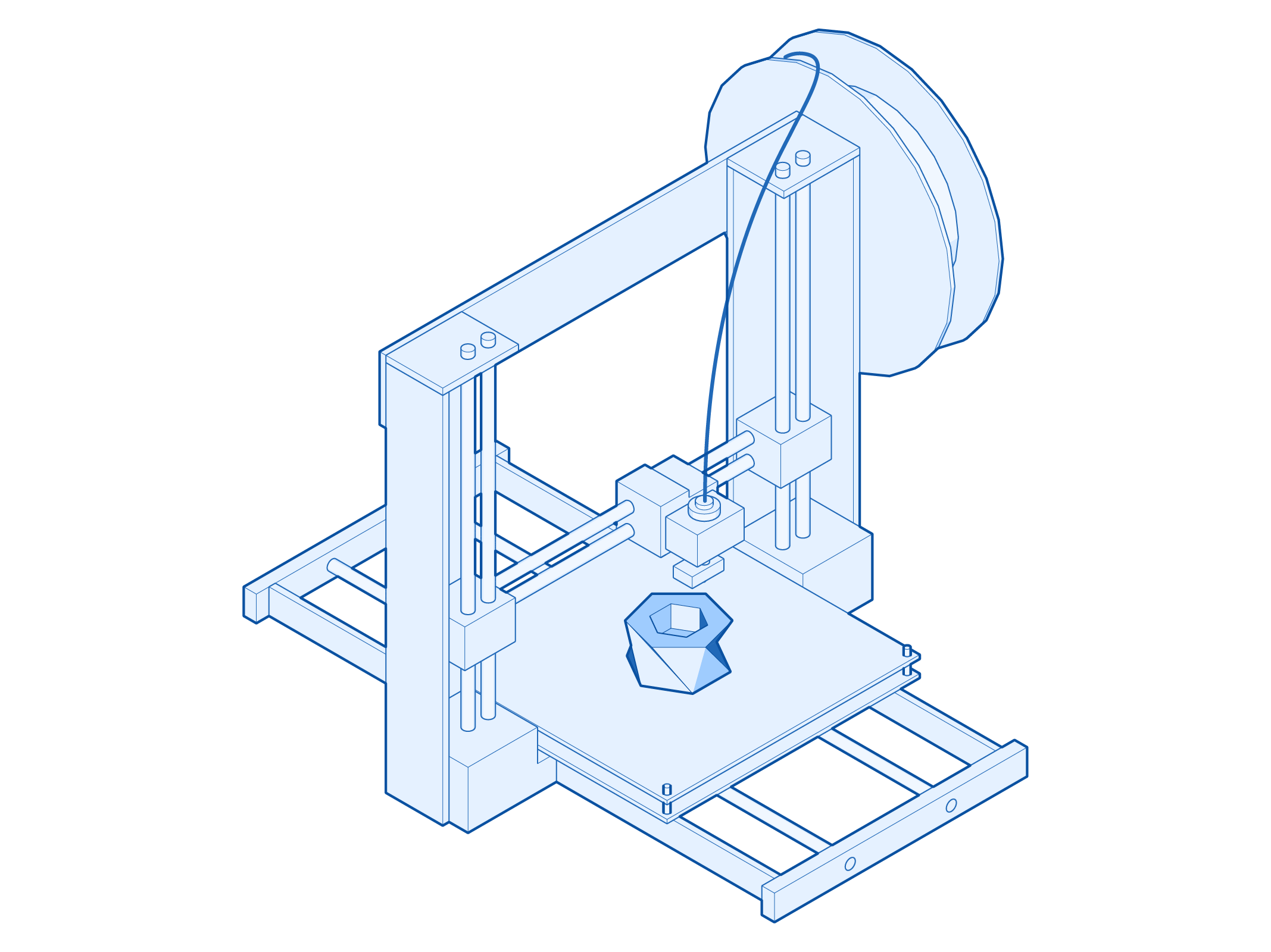 3D Printing - Dimensions - 250(L) x 250(W) x 200(H) mmFiletype - .STLNotes -Our machines use only PLA. Special requests are available.