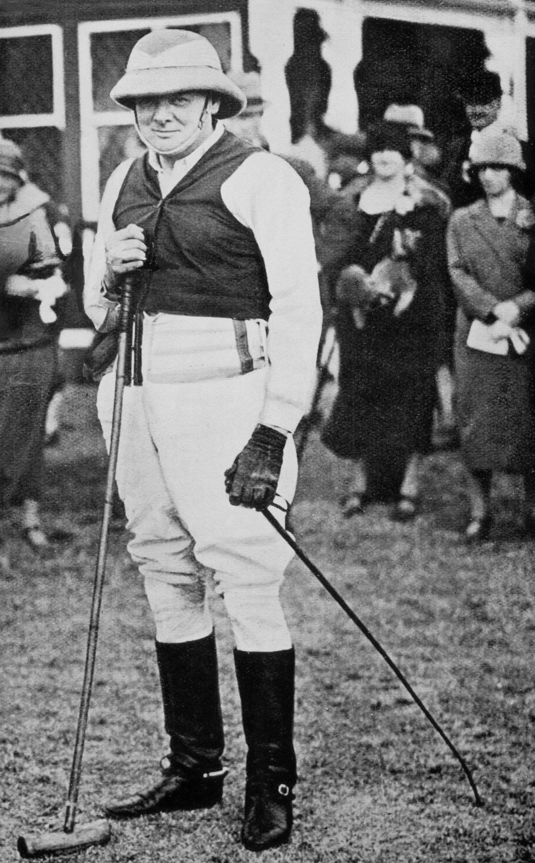 Winston Churchill - The Polo Player