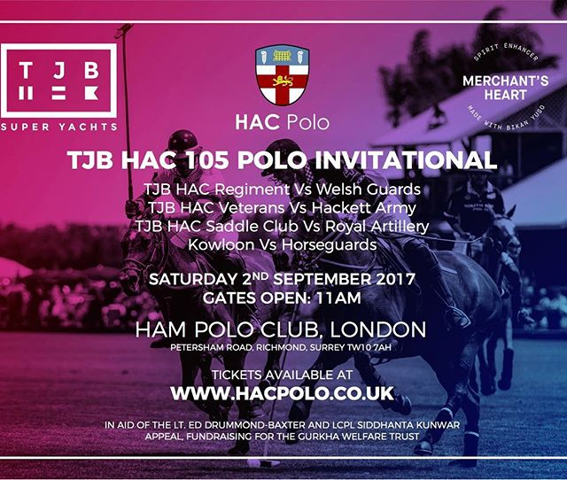 HAC POLO DAY and after party this saturday #hacpolo #hampoloclub
