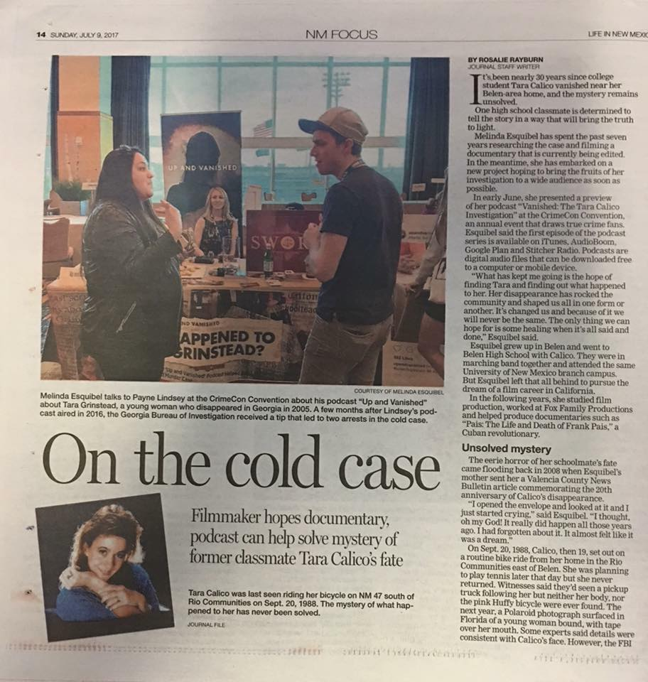 "Albuquerque Journal ""Life in New Mexico"""