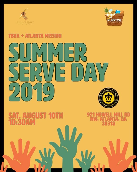 Do you have a heart to serve? I'm looking for a small group of men to volunteer with me at @atlmission next month. We will be serving lunch for the women of #MySistersHouse ♥️ Be sure to sign up at the link in my bio!