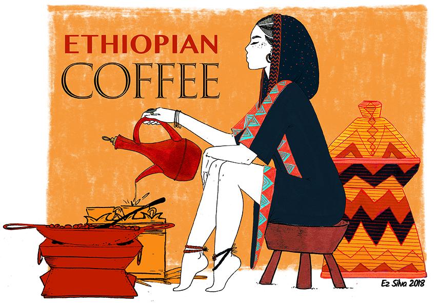 Coffee Ceremony - The Ethiopian coffee ceremony