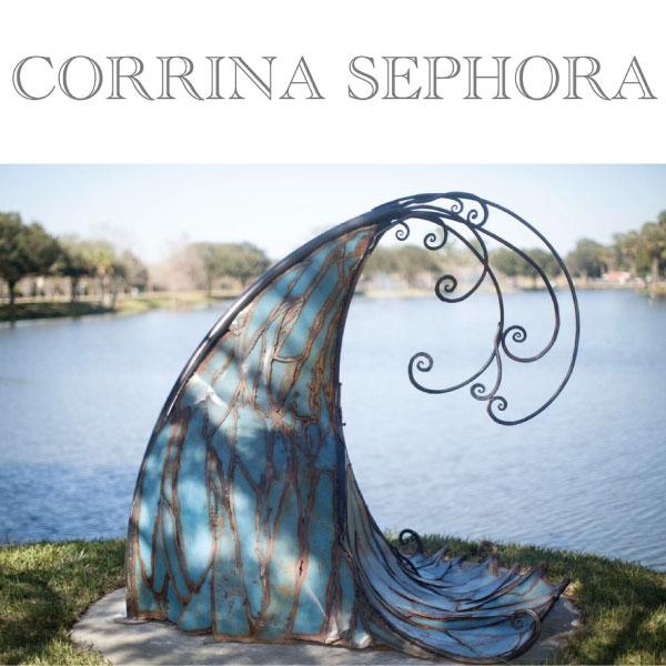 Corrina Sephora  *Discount coming soon #metalwork #sculpture #classes #welding   corrinasephora.com