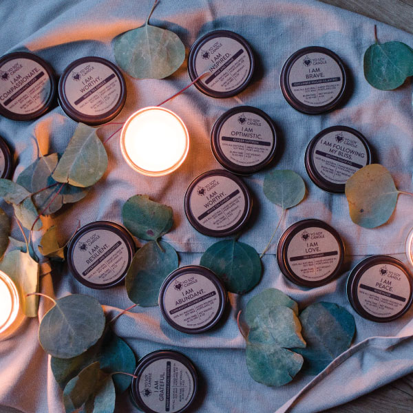 Yo Soy Candles  15% Off #selflove #ecoconscious #handmade #affirmation   yosoycandles.com