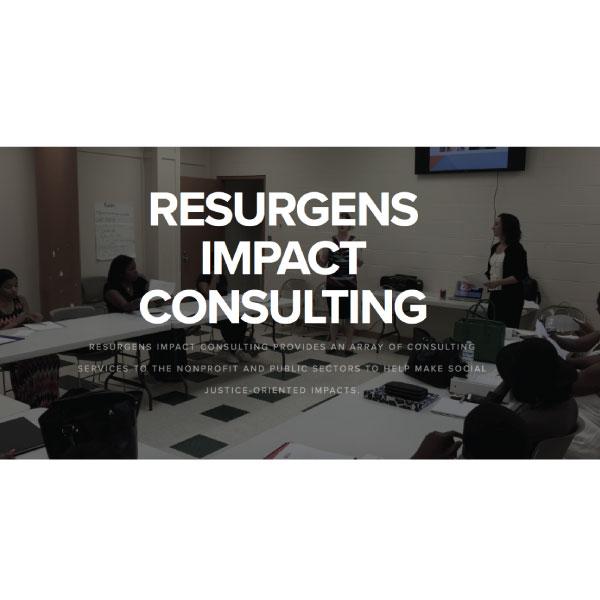 Resurgens Impact Consulting  #nonprofitconsulting #pubilcsector #socialjusticeimpact #grantwriting #strategicplanning   resurgensimpact.com