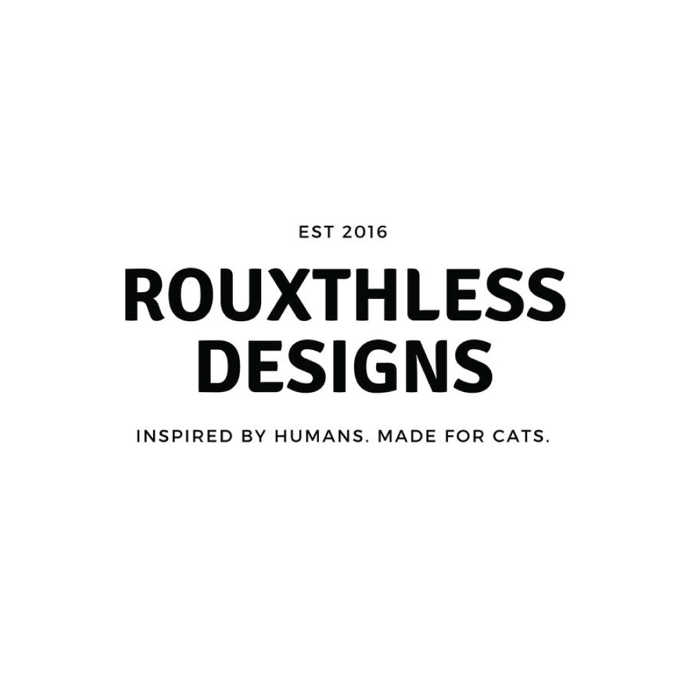 Rouxthless Designs  20% Off #humaninspired #madeforcats #badcathandsalve #cattoys   etsy.com/shop/RouxthlessDesigns