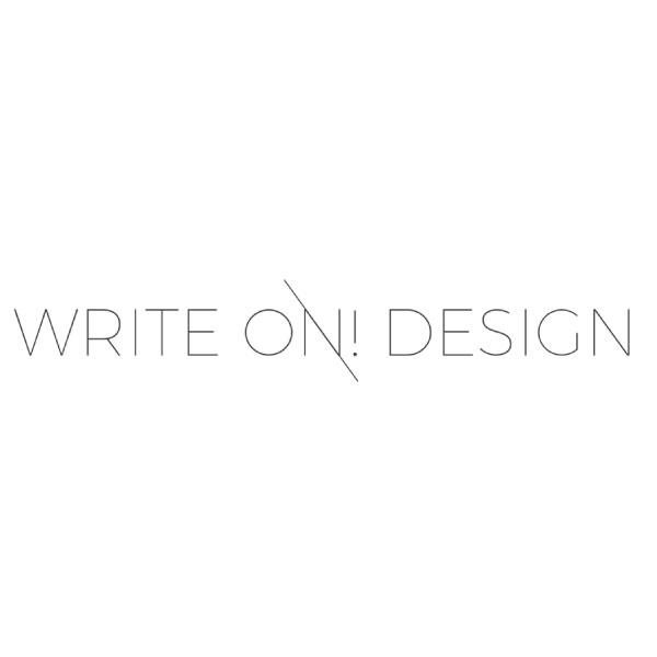 Write On! Design / Jenn Gietzen  15% Off All Services #design #artist #handletterer   jenngietzen.com