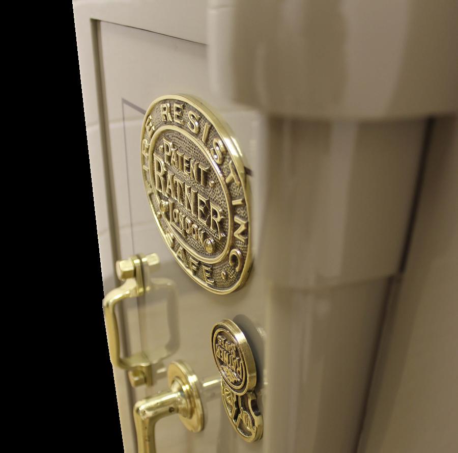Ratner vintage safe