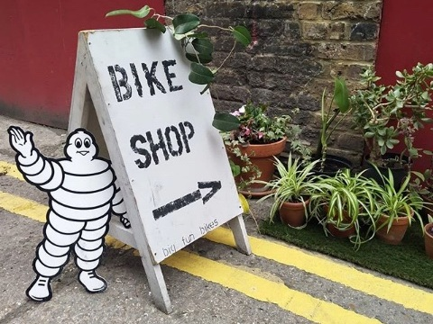 Come to our East London bike shop