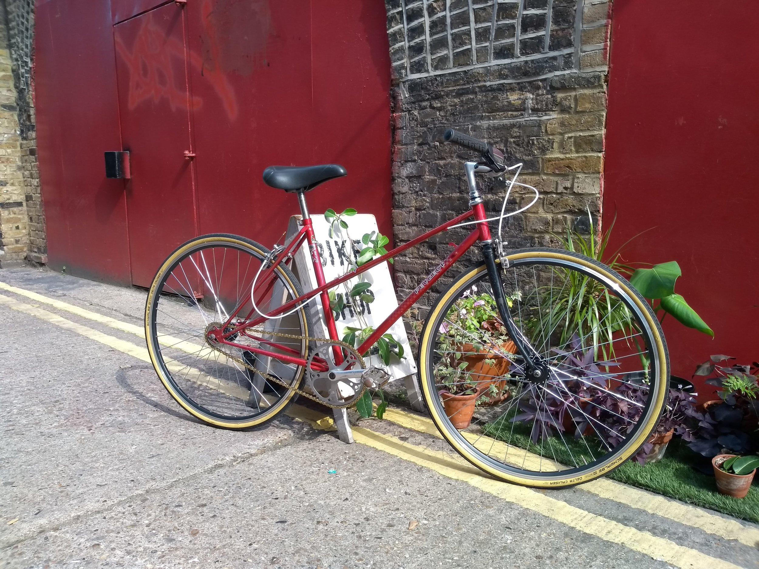 East London bike shop