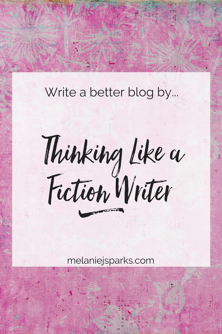 Steal from fiction to write a better blog, blog writing tips