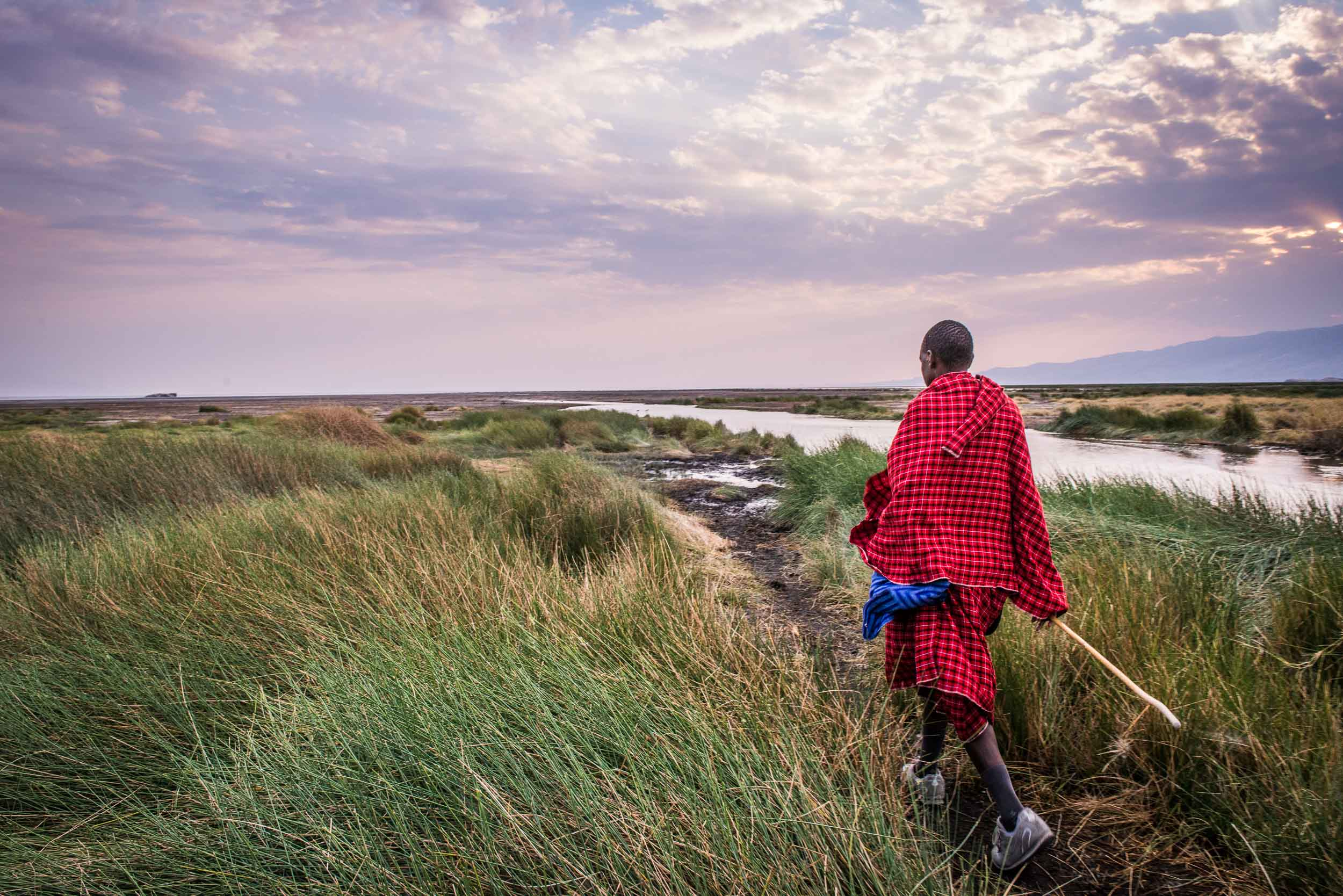 Tanzania walking Massai warrior - Travel - Photo credit Nicola Bailey.jpg