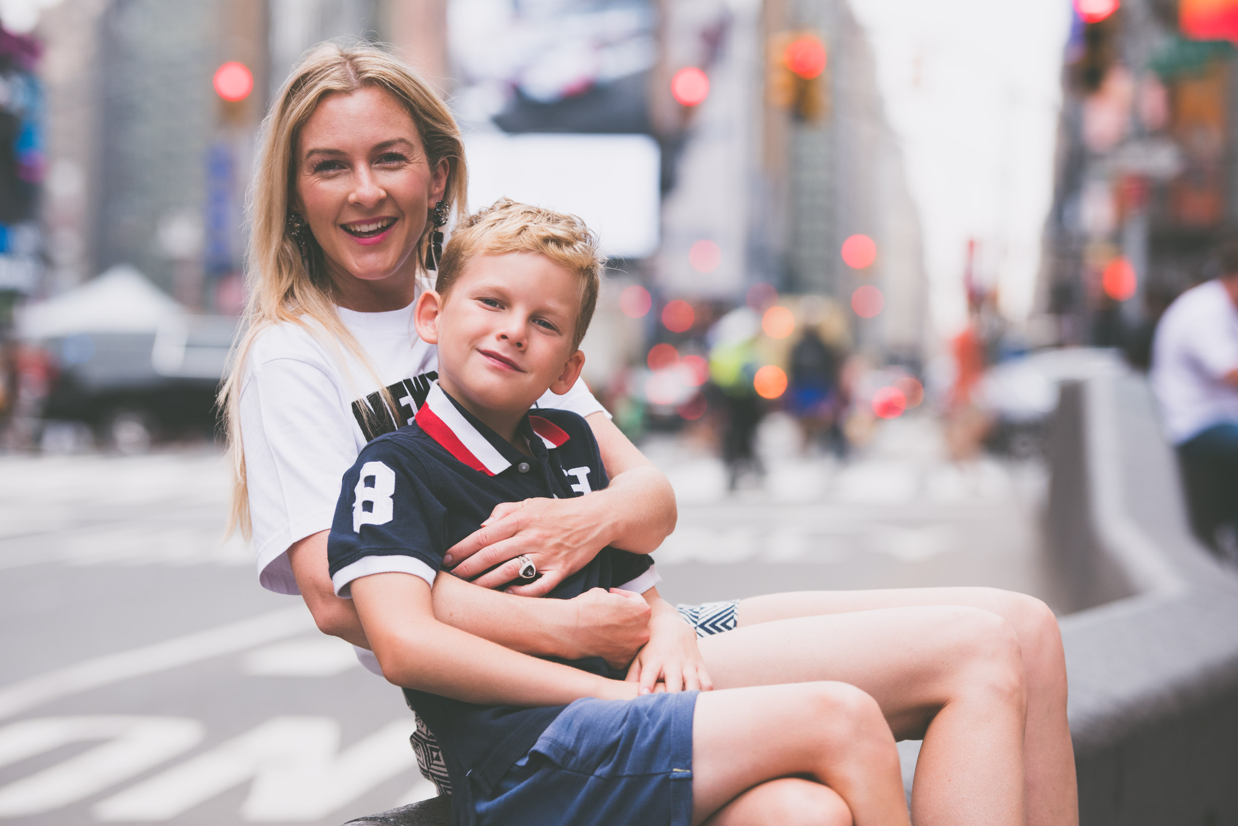 Mom and son in Times Square - Family - Photo credit Nicola Bailey.jpg