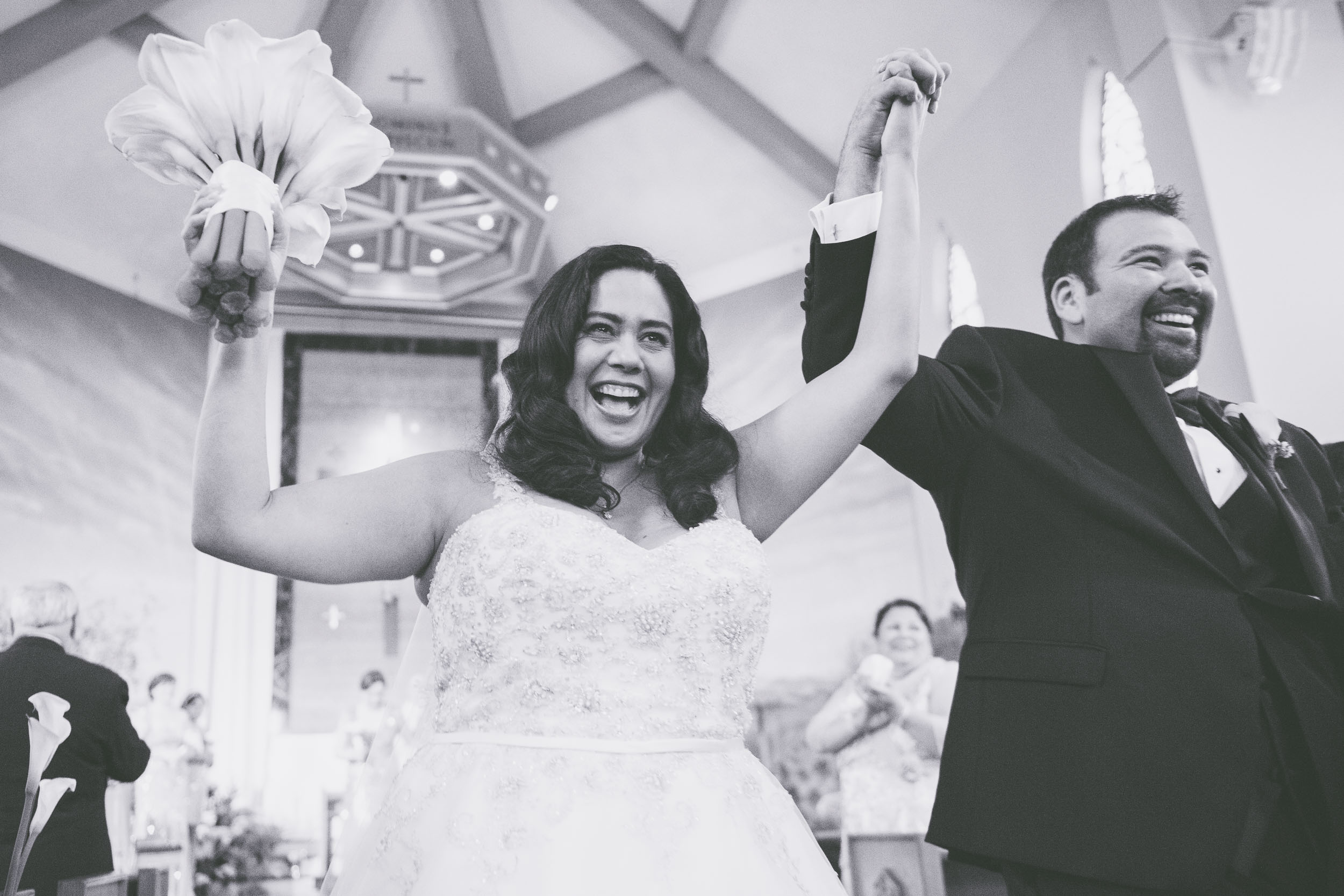 Black and white after ceremony  - Weddings - Photo credit Nicola Bailey.jpg
