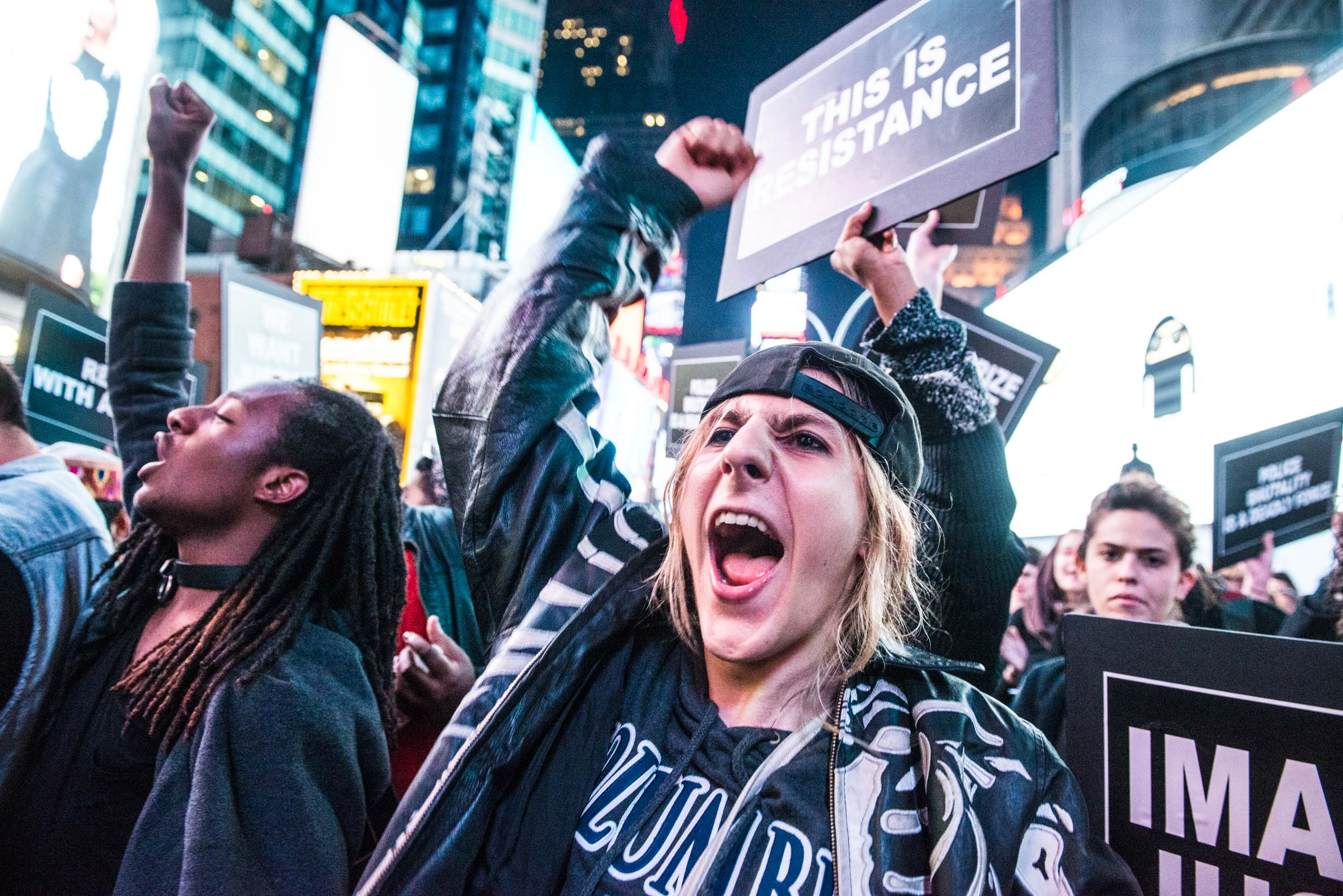 Black lives matter close up white anger - current events - Photo credit Nicola Bailey.jpg