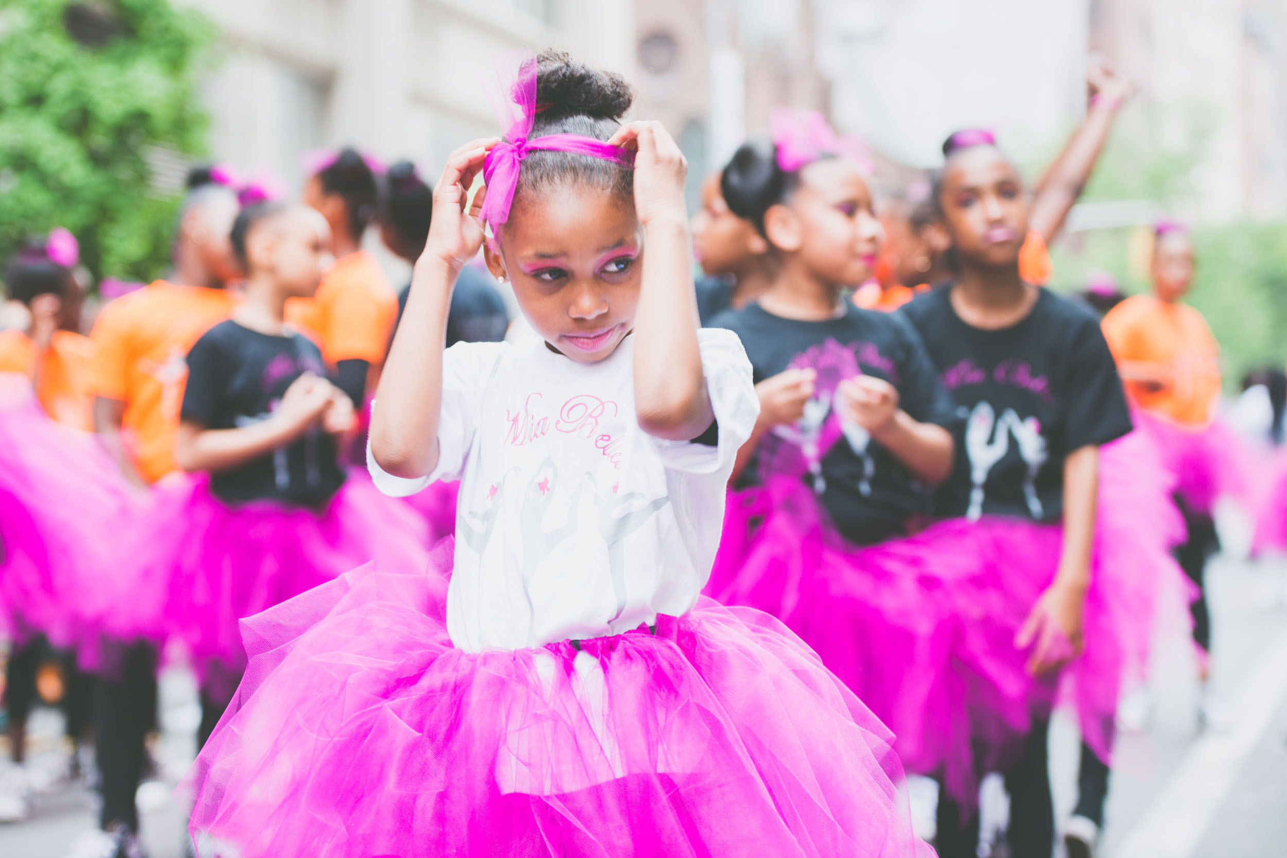 Girl in pink at parade - Current events - Photo credit Nicola Bailey.jpg