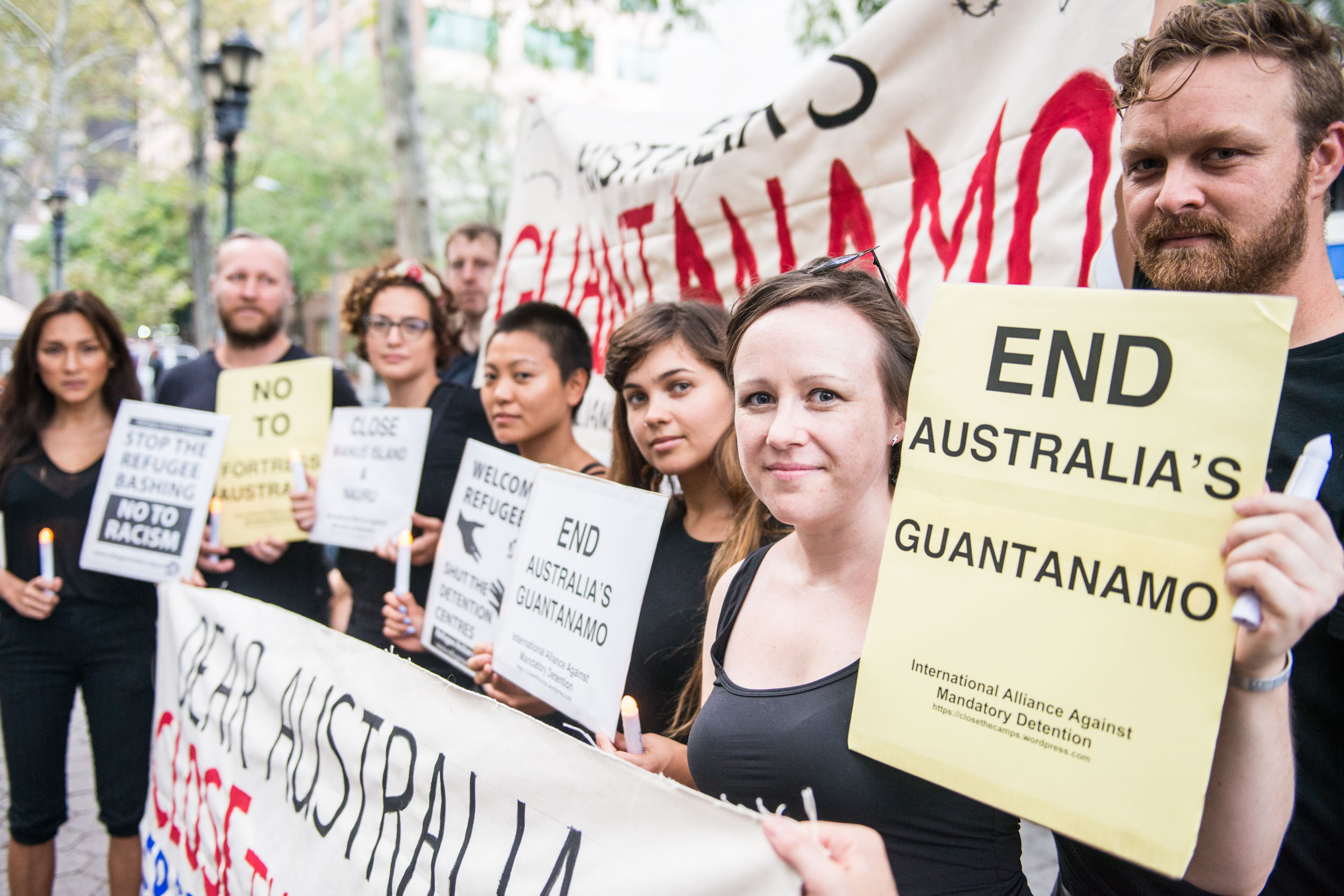 Guantanamo protest - Current events - Photo credit Nicola Bailey.jpg