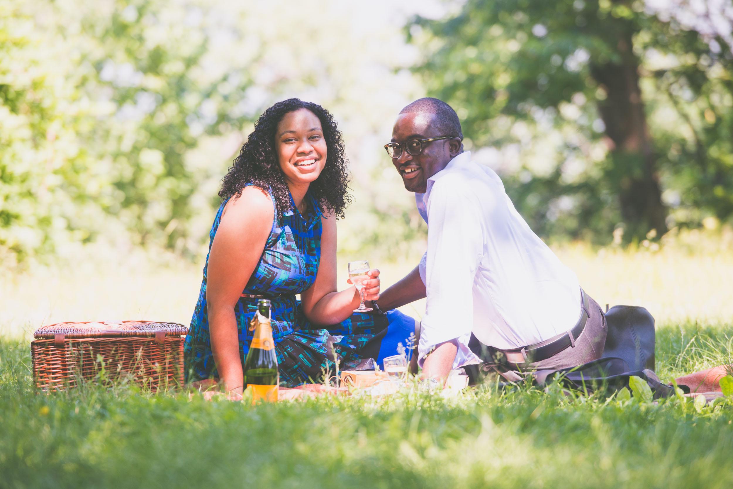 Couple enjoying champagne - Engagement portraits -  Photo credit Nicola Bailey.jpg