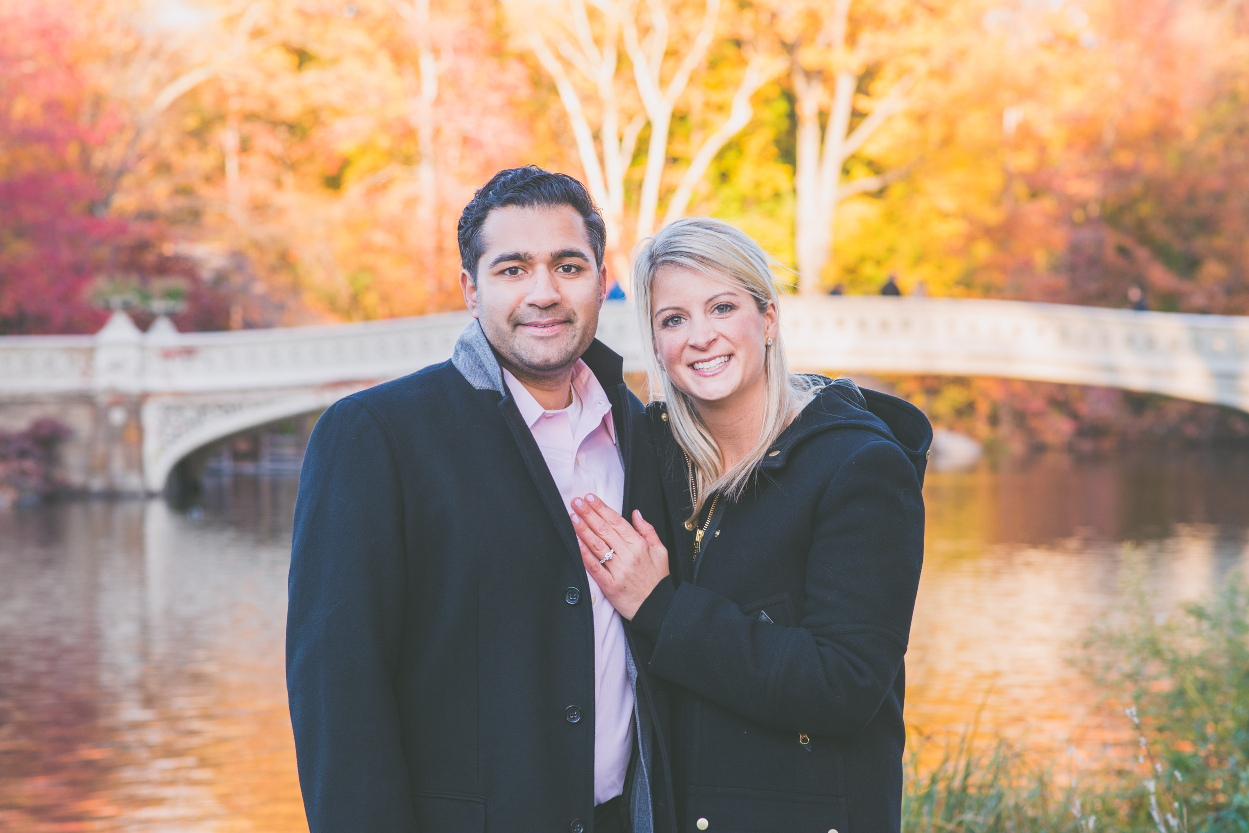 Couple with fall colors - Engagement Portraits - Photo credit Nicola Bailey.jpg