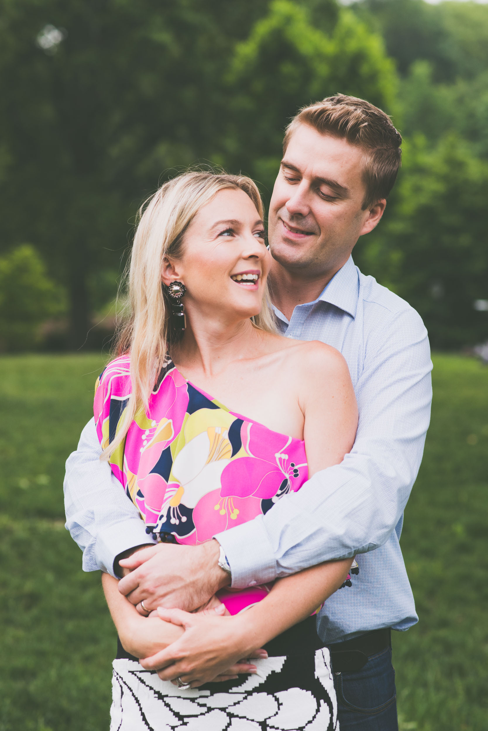 Green background looking down - Engagement Portraits - Photo credit Nicola Bailey.jpg