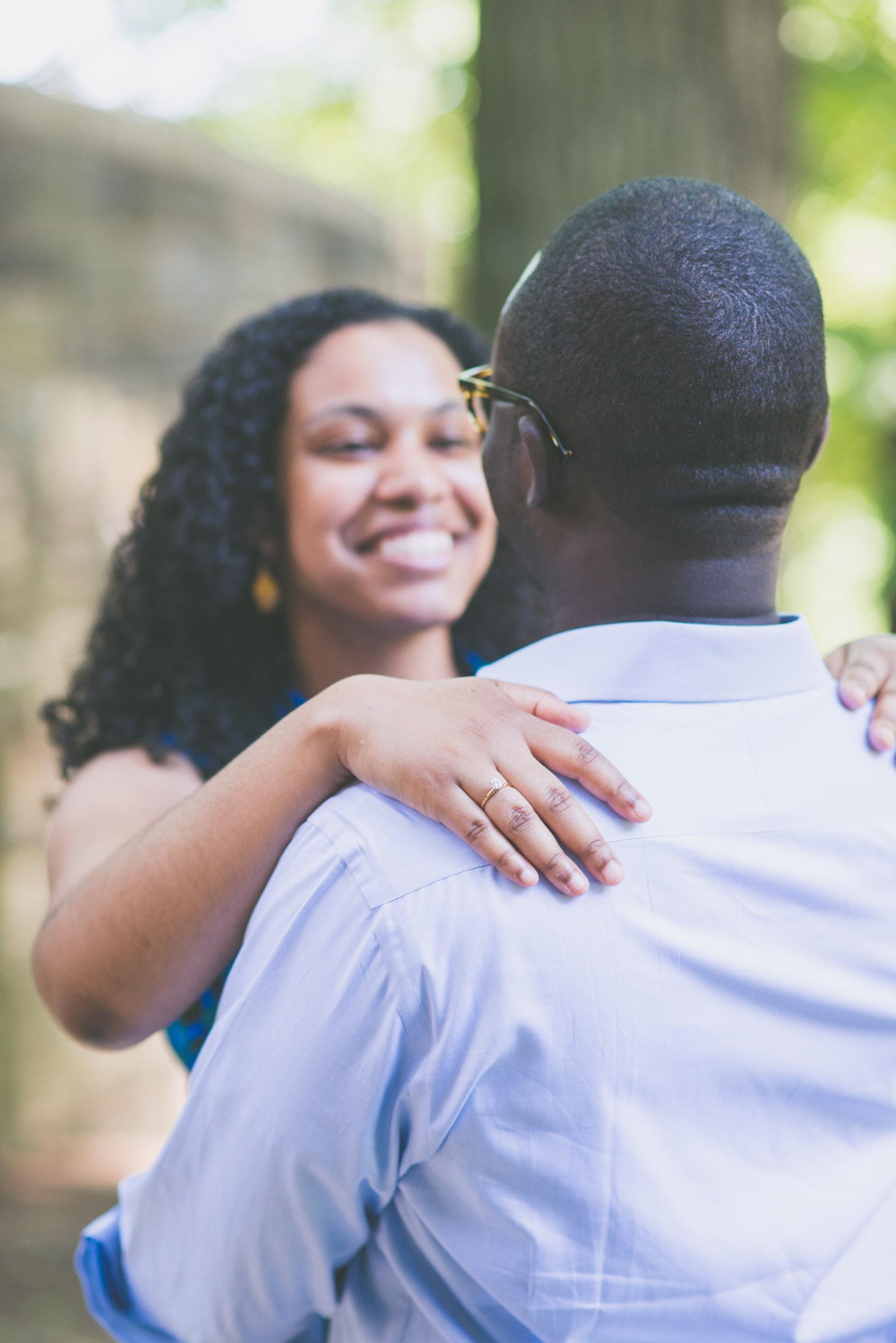 Hand on shoulder - Engagement portraits -  Photo credit Nicola Bailey.jpg