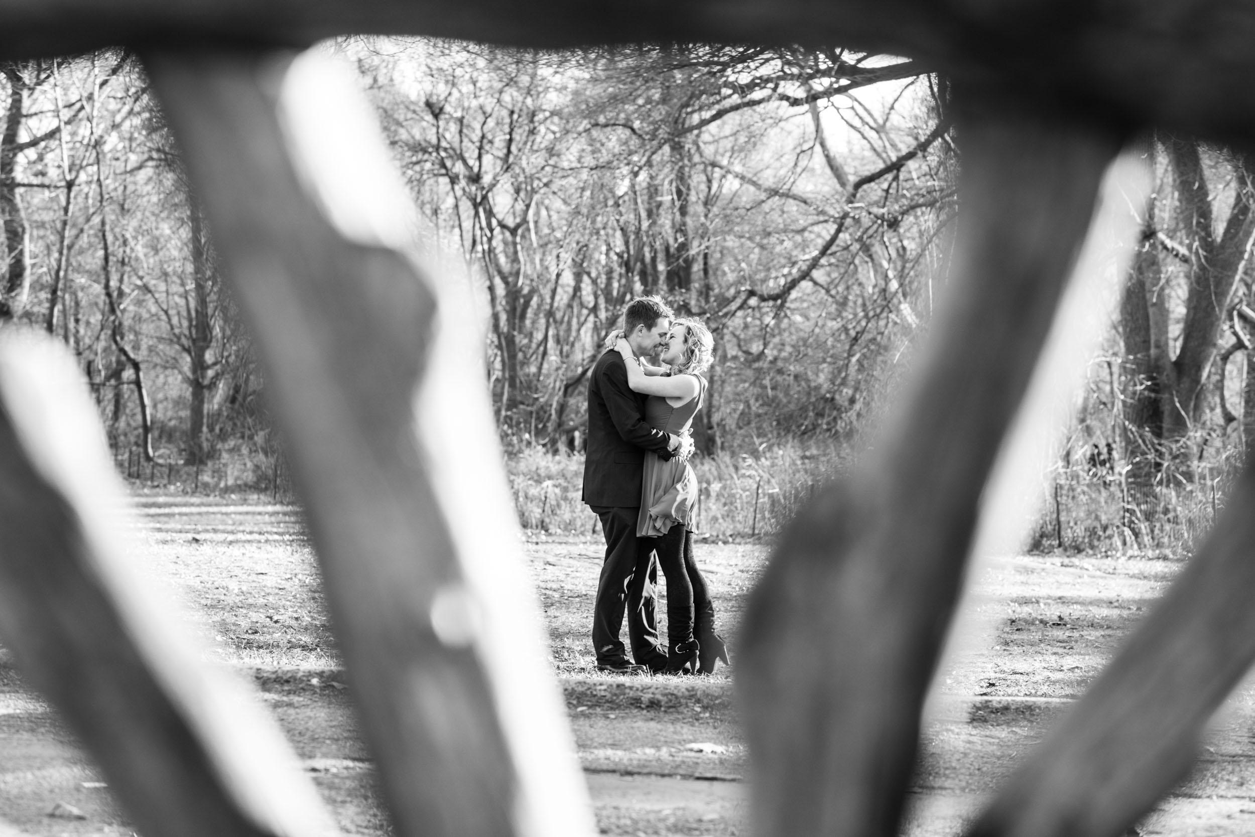 Looking through seat - Engagement Portraits - Photo credit Nicola Bailey.jpg