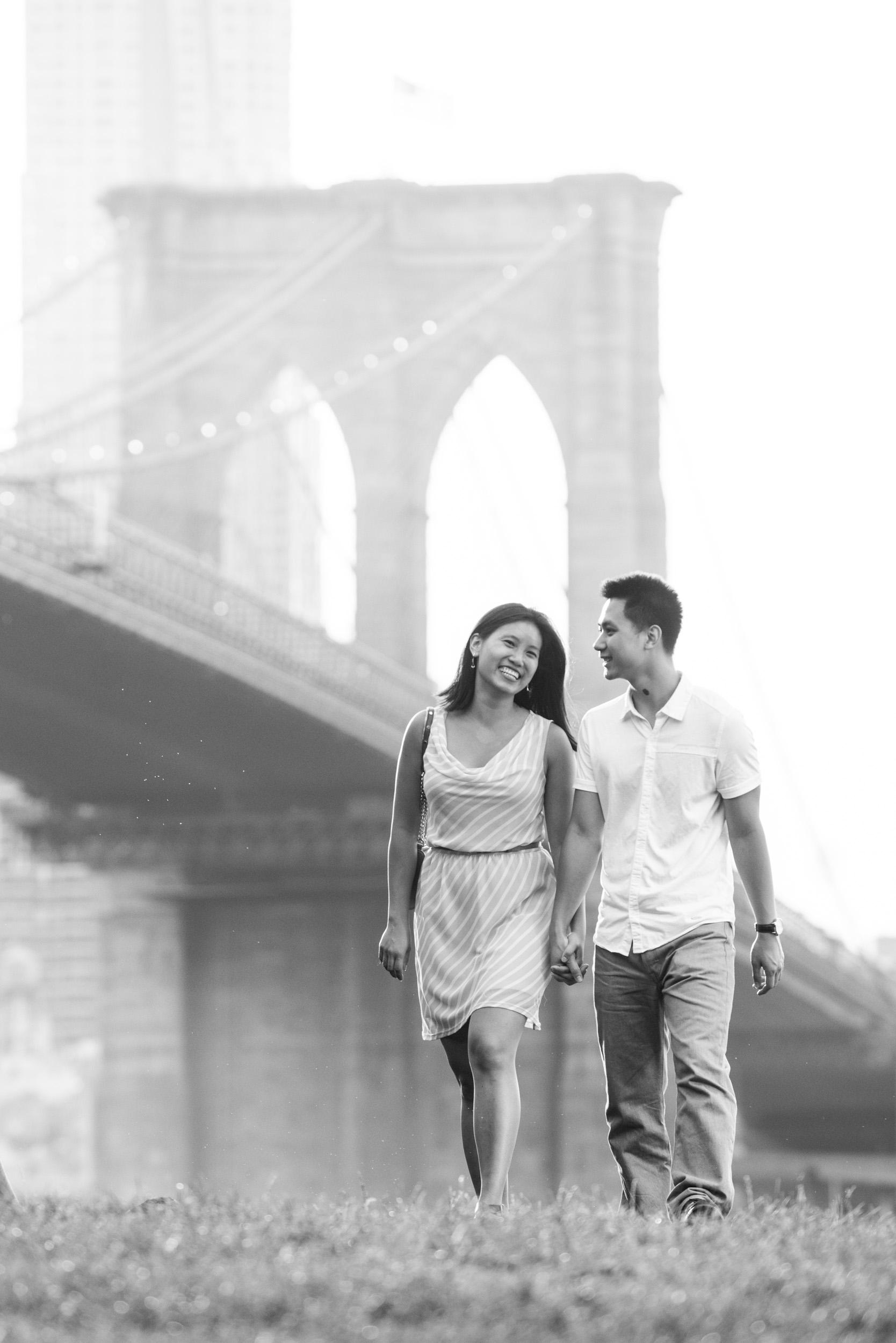 Walking across park 2 - Engagement Portraits - Photo credit Nicola Bailey.jpg