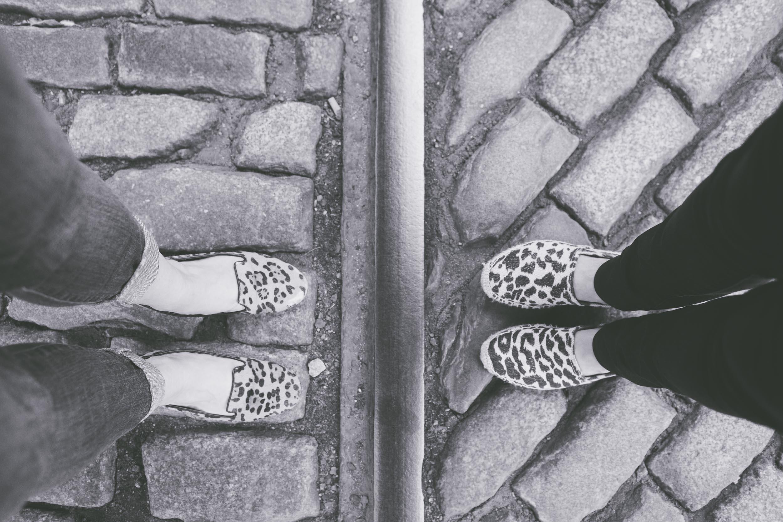 Womens leopard print shoes - Engagement Portraits - Photo credit Nicola Bailey.jpg