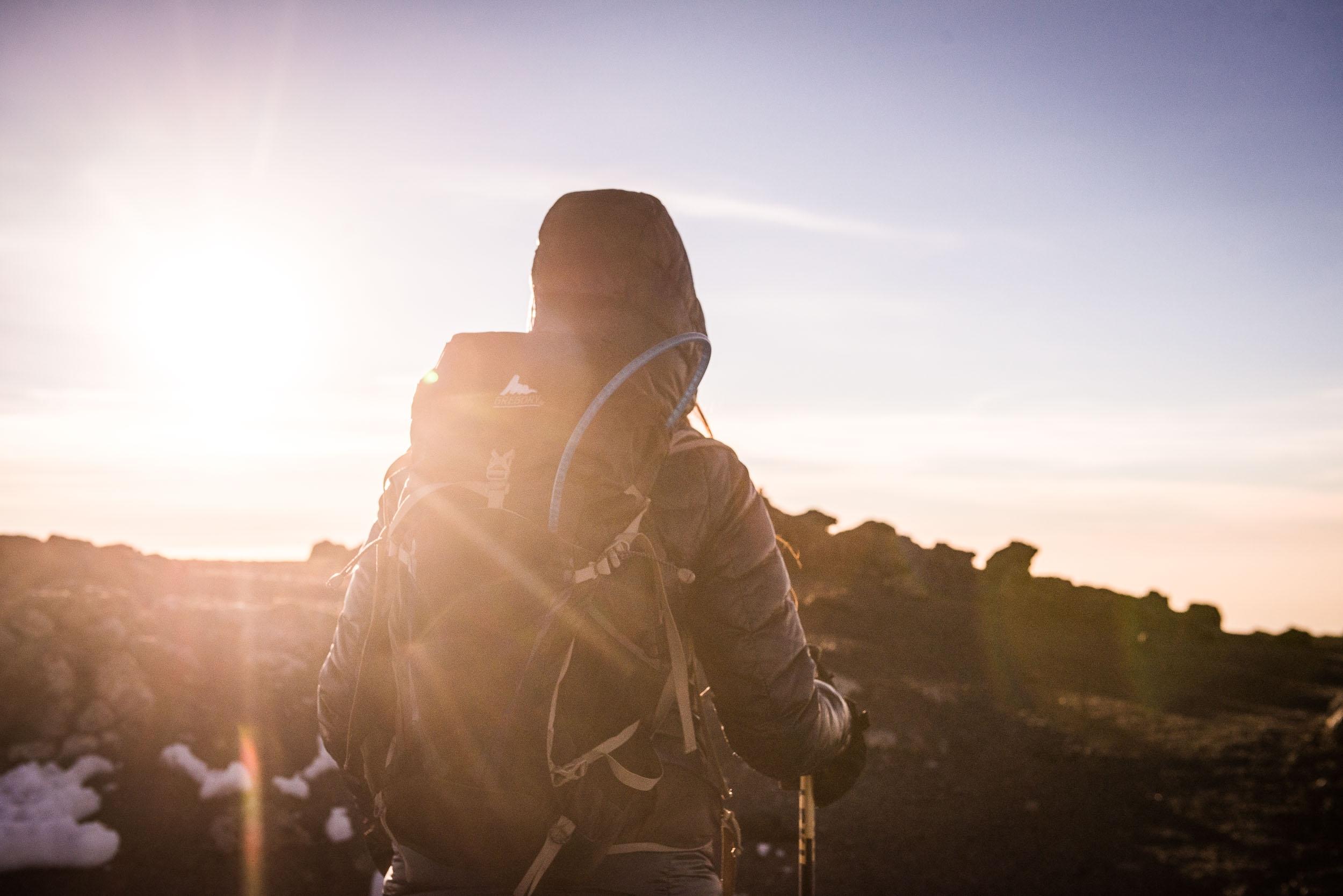 Hiking Kilimanjaro - lifestyle photography