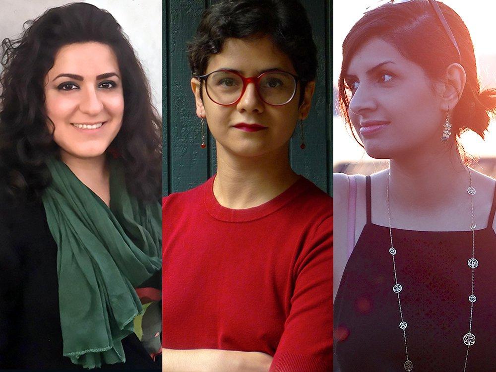Anahita Abbasi, Aida Shirazi & Niloufar Nourbakhsh   Photos by Niloufar Shiri (Abbasi) & Kiou Kalami (Shirazi )