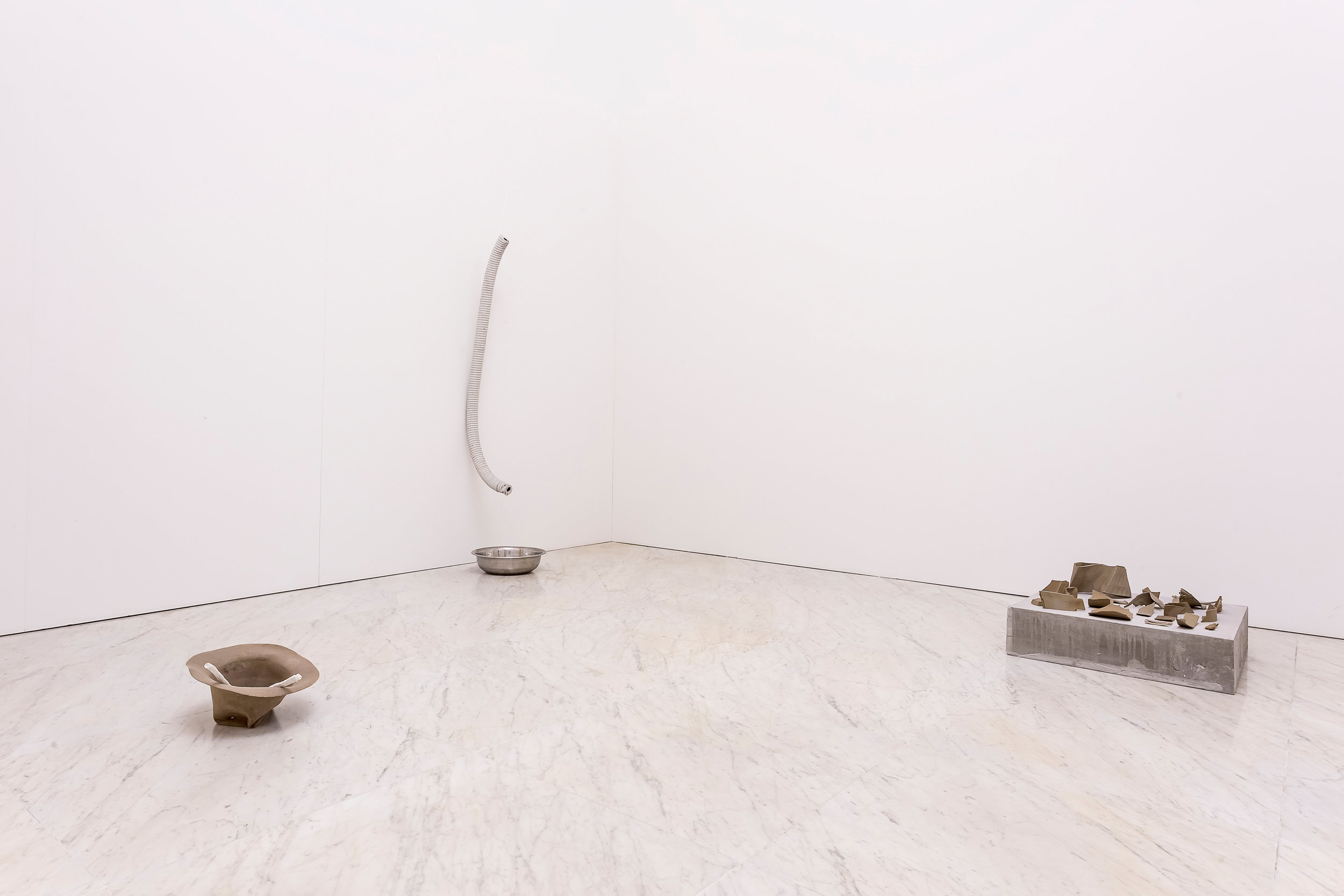 Excavata , Installation view, Carrara 2016