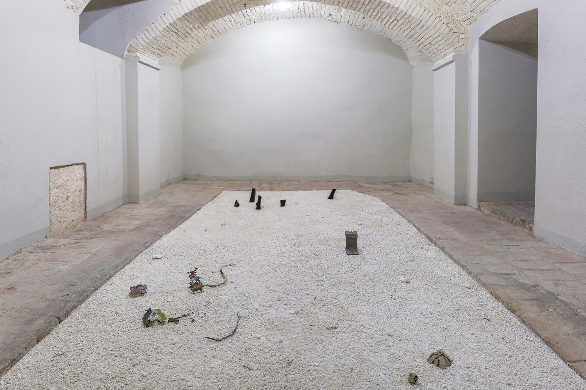 il chiaritoio,  installation view, museo della grancia, italy 2018